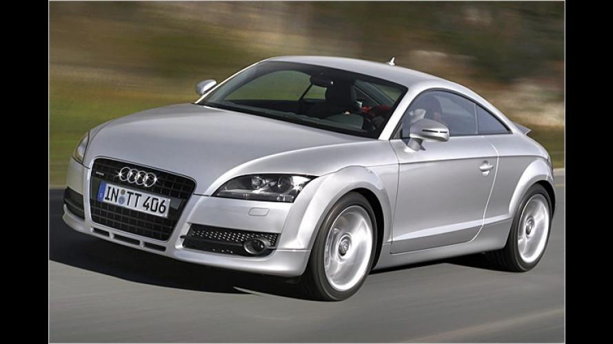 Geld für die Kuppel: Preise des neuen Audi TT