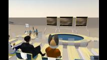 Virtuelle Pressekonferenz