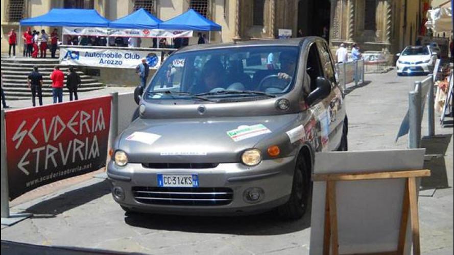 Fiat Multipla a metano vince l'Ecorally San Marino-Città del Vaticano