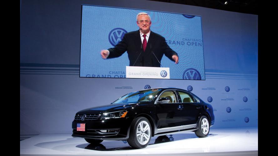 Volkswagen inaugura lo stabilimento di Chattanooga