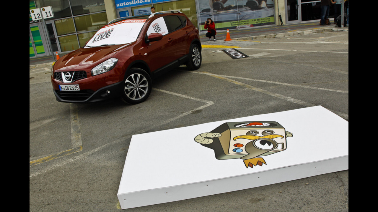Nissan Qashqai con Around View Monitor