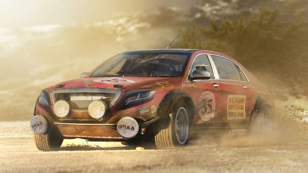 Mercedes-Benz S Class rally car | Motor1.com Photos