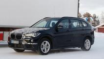 Stretched BMW X1 spy photo