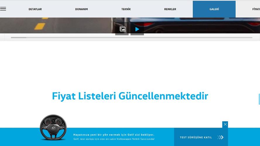 VW Fiyat Listesi