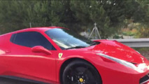 Ferrari Neymar acidente