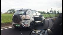 Flagra: Novo Ford EcoSport 1.5 vai reagir aos rivais no Salão do Automóvel