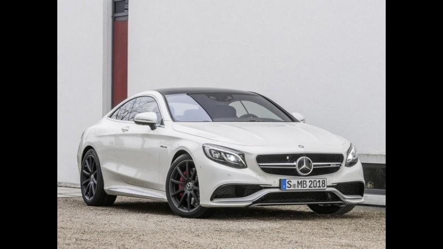 Até tu? Mercedes S63 AMG Coupé tem recall no Brasil por falha nos cintos