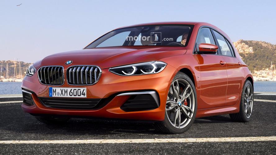 Elsőkerék-hajtással érkezhet meg a következő-generációs 1-es BMW