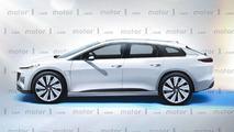 Faraday Future elektrikli crossover tasarım yorumu
