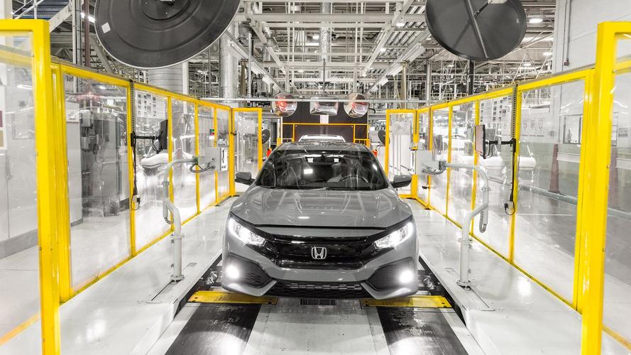 Honda Civic Hatchback Production
