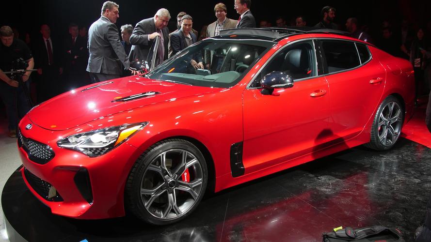 2018 Kia Stinger is a stylish gran turismo with biturbo V6 power