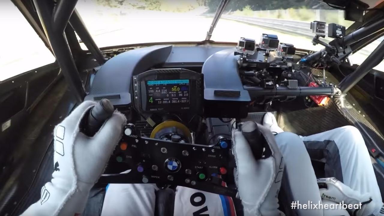 Augusto Farfus BMW M4 DTM Nurburgring lap