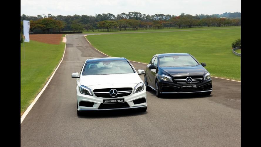 Mercedes A 45 AMG reestilizado pode ter até 400 cv de potência