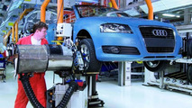 Audi A3 Cabriolet on the Production Line in Hungary