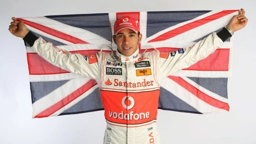 UK postage stamps to honour Hamilton title