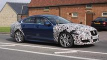 2012 Jaguar XF-R facelift spy photo