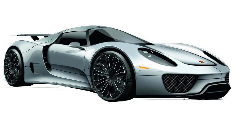 Porsche 918 Spyder further details leaked - WCF Exclusive