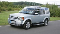 Land Rover Discovery (LR3) major facelift spy photos