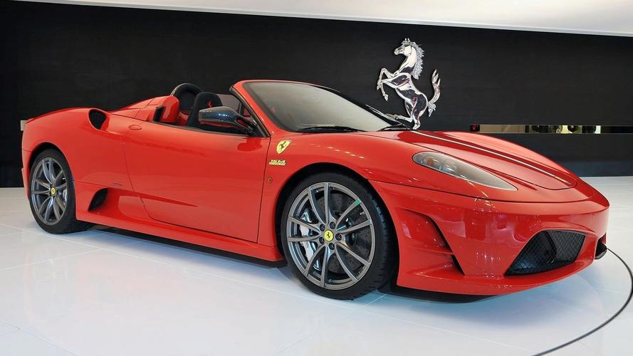 Ferrari 430 Scuderia Spider 16M Unveiled at Bologna Motor Show