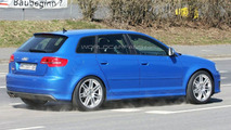 Audi RS3 prototype mule spy photo