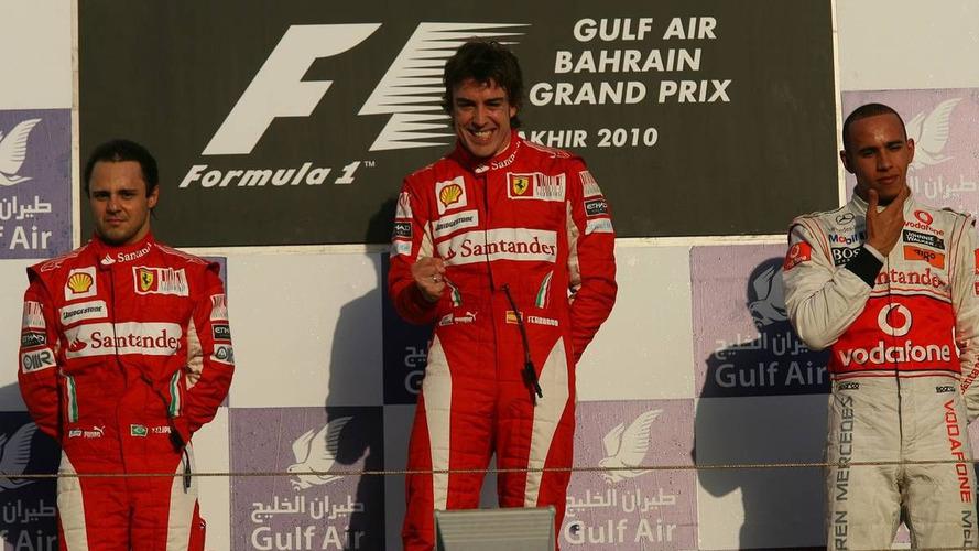 Alonso wins first race of 2010 season