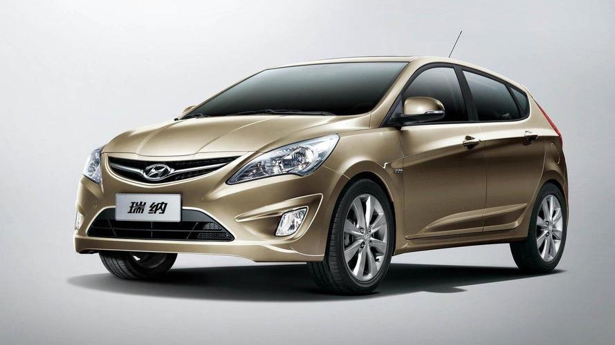 Hyundai Verna 5-door revealed in China