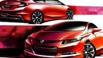 2012 Honda Civic Si Coupe Concept 10.01.2011