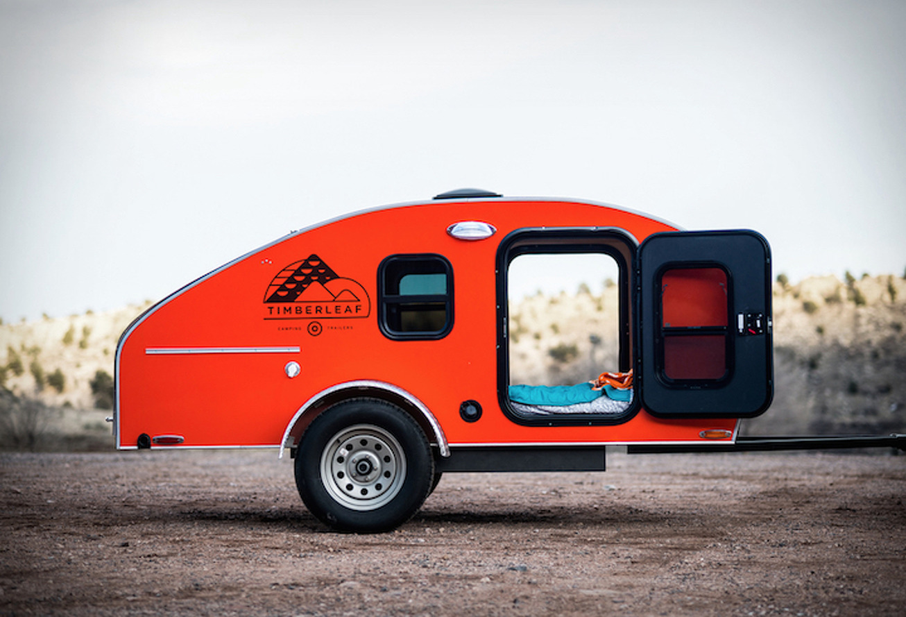 This Stylish Camping Trailer is Probably Better Than Paying Rent