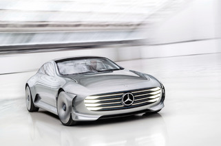 The Mercedes-Benz Concept IAA is Like a Real-Life Transformer