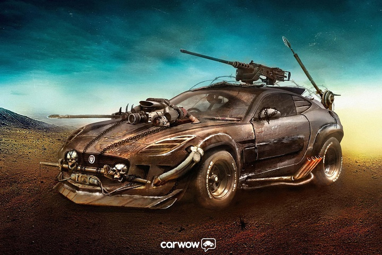 This is What the Jaguar F-Type Would Look Like in 'Mad Max'