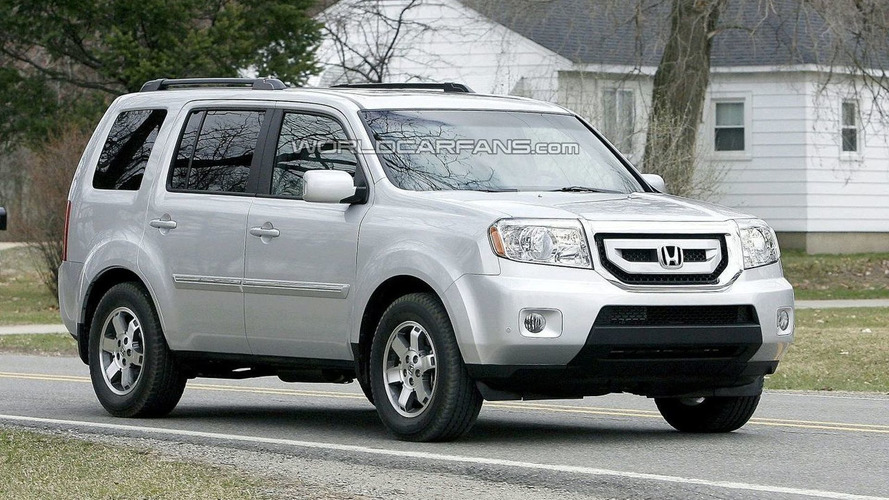 2009 Honda Pilot Spied in the Buff