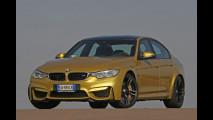BMW M3, la prova