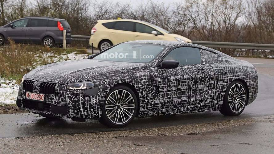 La BMW Série 8 rode une nouvelle fois