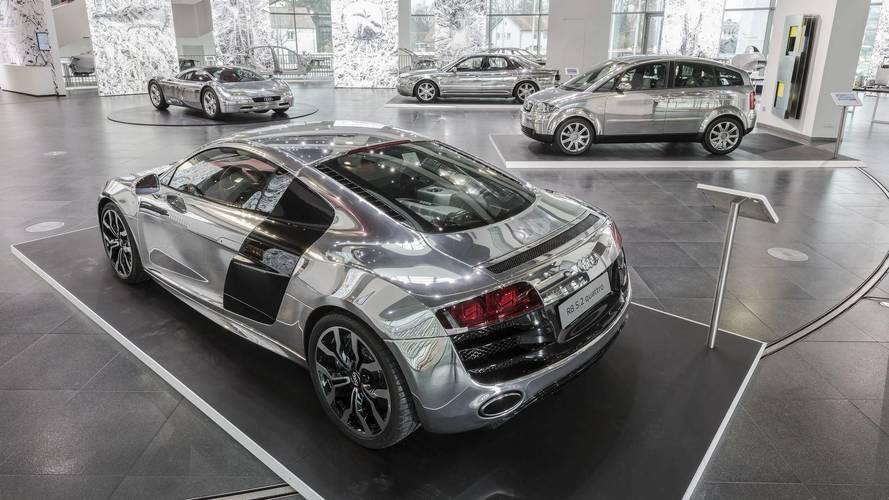 Audi Exhibit Puts The Spotlight On Aluminum Construction