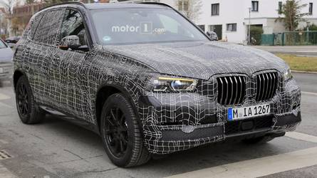 Photos espion - La prochaine génération de BMW X5 s'échappe
