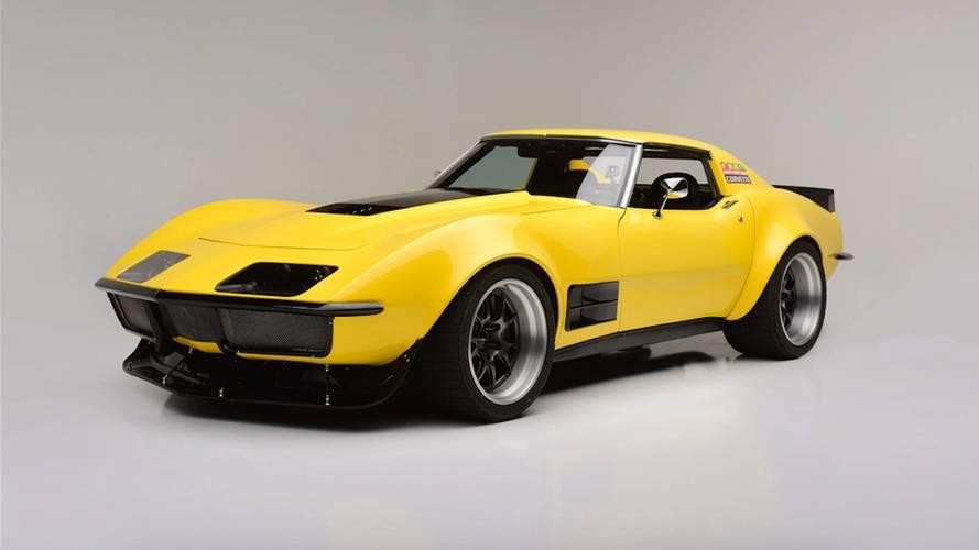 1973 Corvette Race Car Built In 48 Hours Heading To Auction