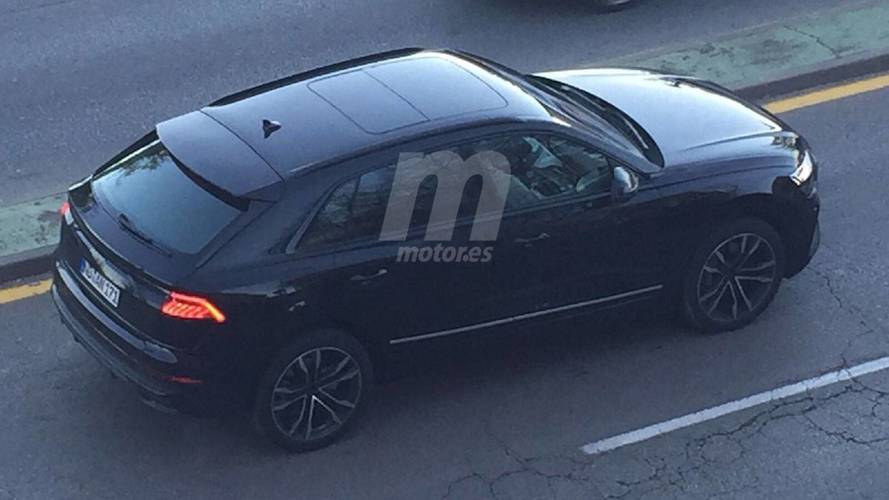New 2018 Audi Q8 spotted with barely any disguise