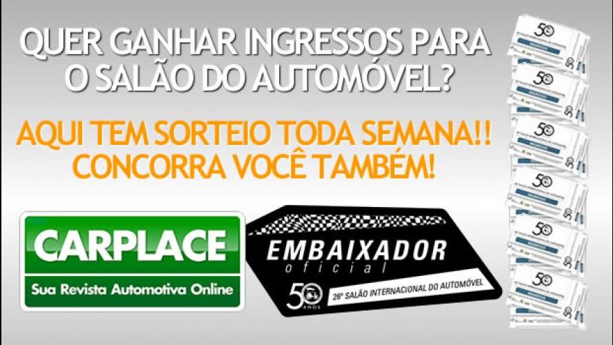 Promoção CARPLACE: Concorra a ingressos para o Salão do Automóvel!!