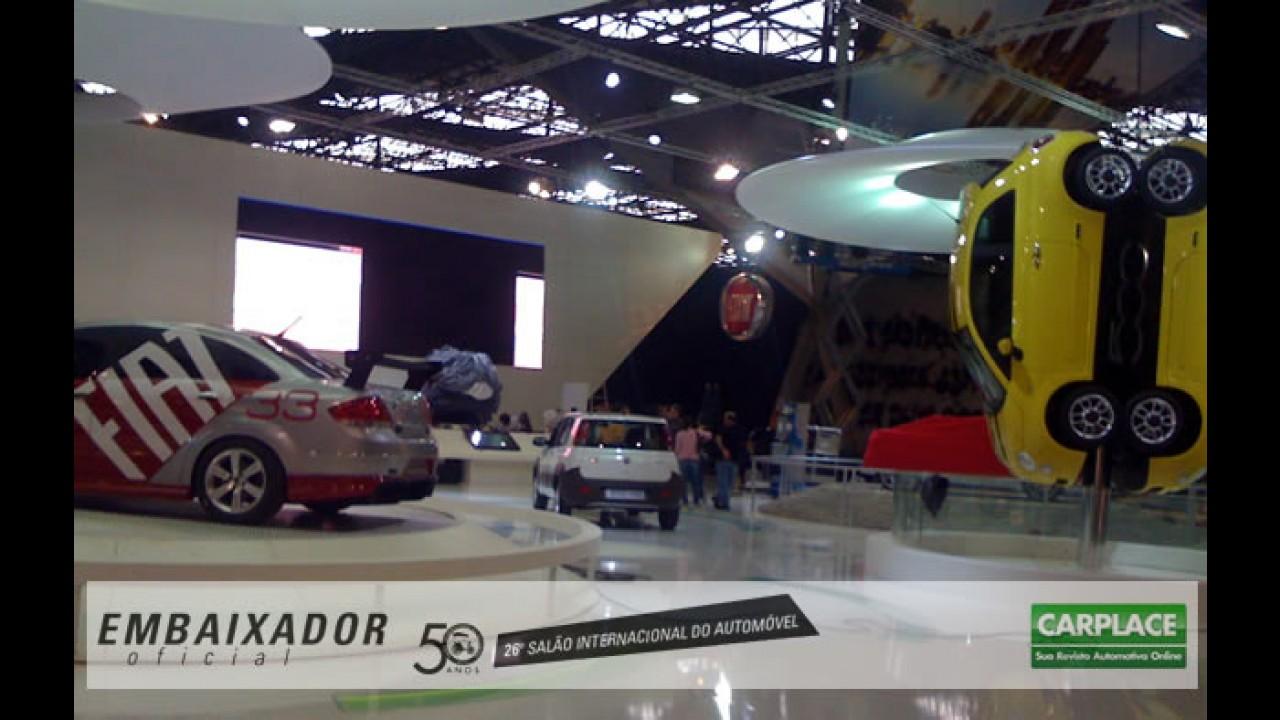 Bastidores: Fiat no Salão do Automóvel