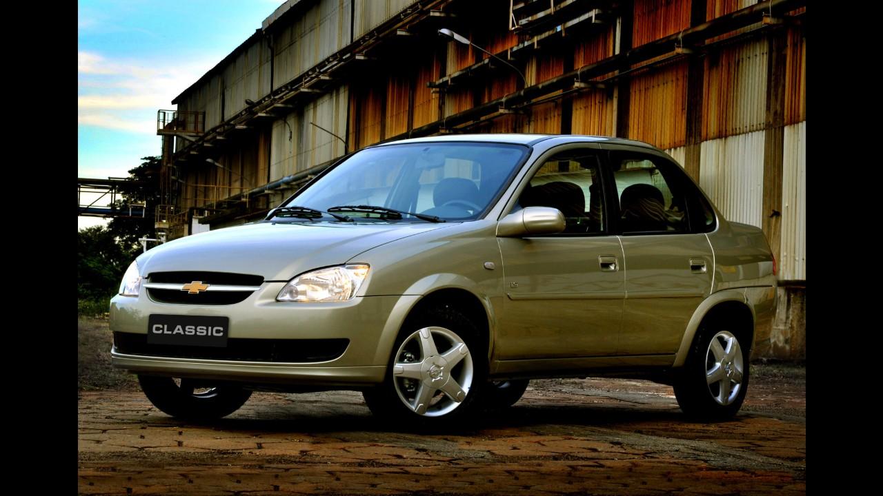 Chevrolet convoca Classic 2013 equipado com duplo airbag para recall