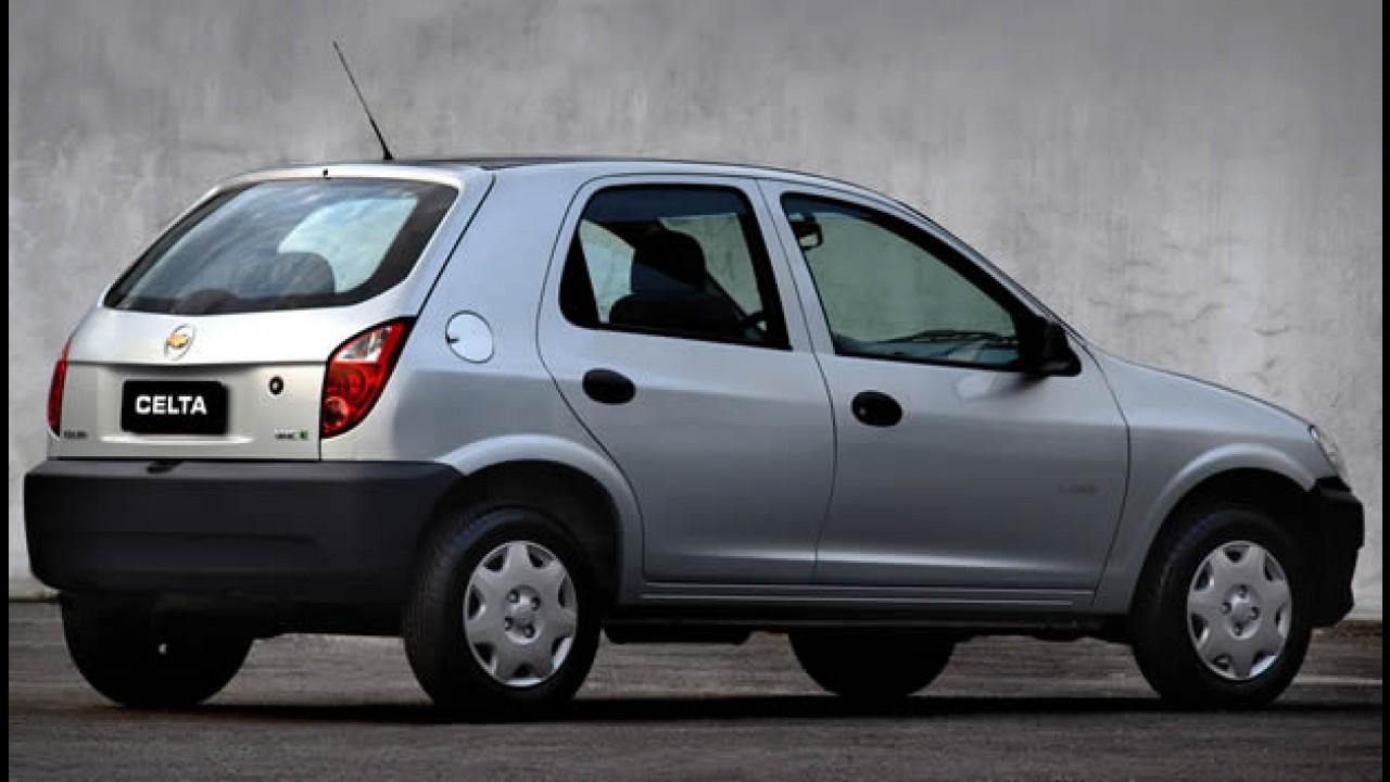 Chevrolet lança linha 2011 dos modelos Celta e Prisma