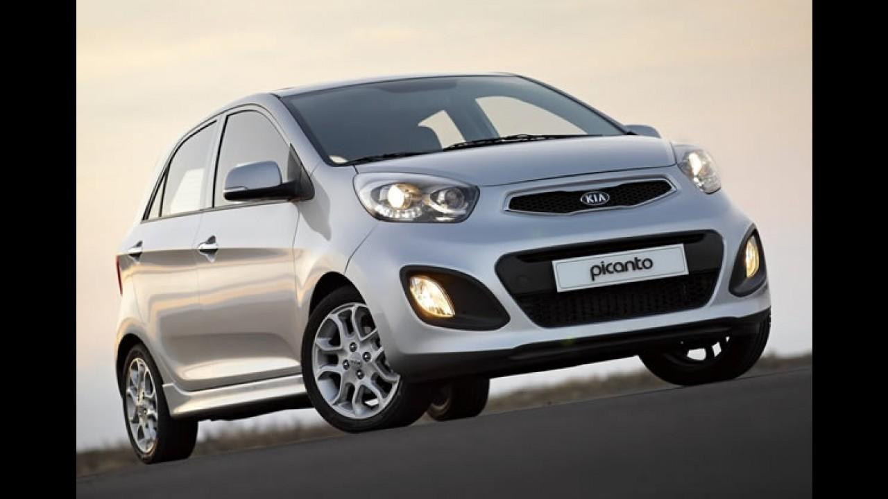 Nova geração do Kia Picanto será apresentada no dia 26 de Agosto