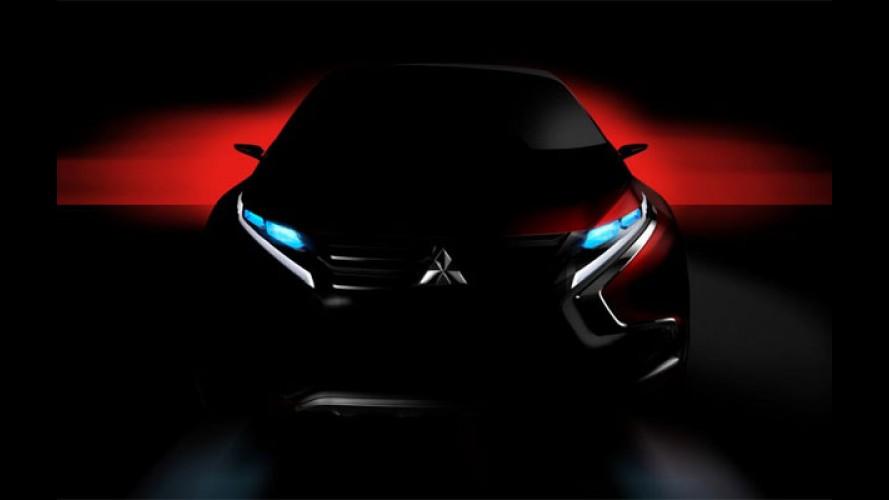 Mitsubishi mostra teaser de novo conceito para o Salão de Genebra