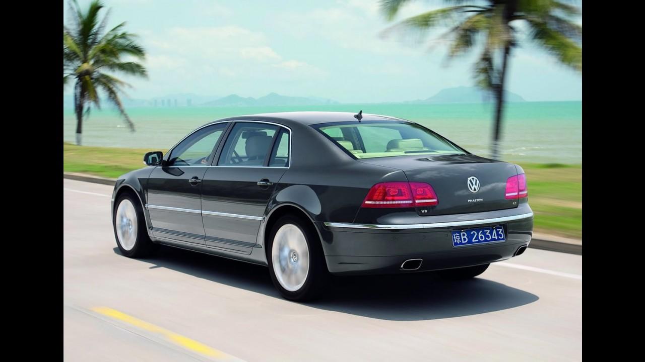 Próximo Phaeton será mais confortável que Mercedes Classe S, diz fonte