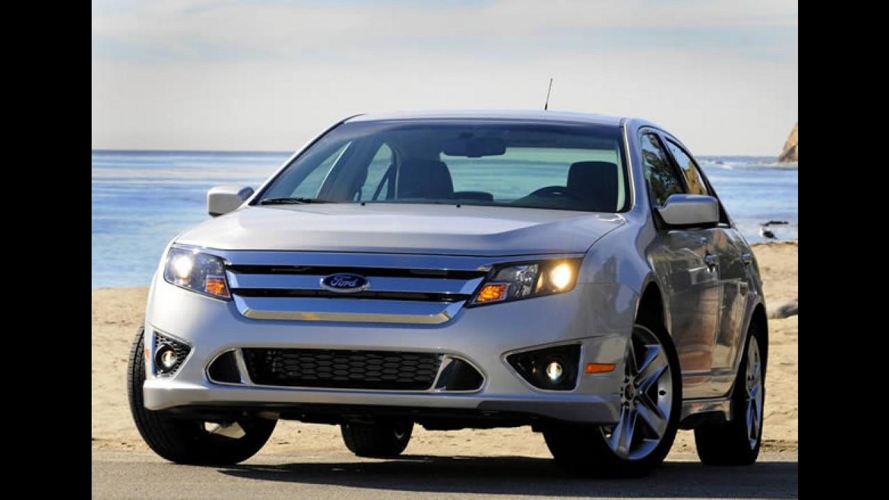 Ford Fusion e Mercury Milan passam por recall nos EUA por defeito nas rodas