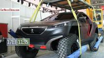 Peugeot 2008 DKR in Beijing
