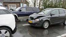 BMW i3 crash in Munich