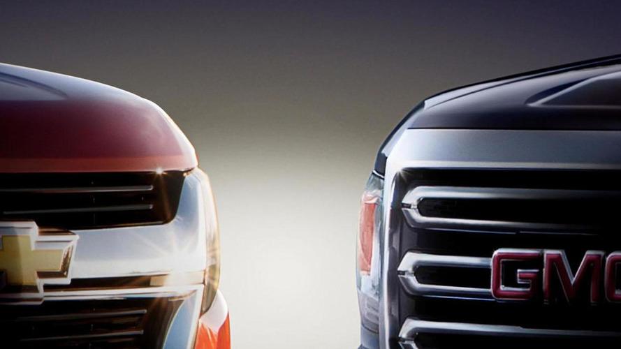 2015 Chevrolet Colorado & GMC Canyon teased