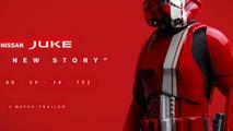 Nissan Juke Star Wars Edition teaser 22.8.2013