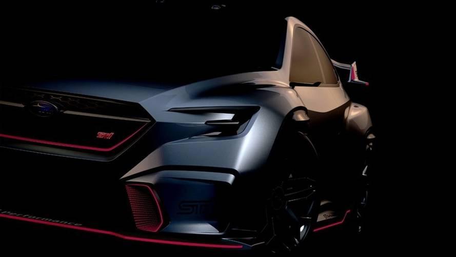 Subaru Viziv Performance STI, yeni WRX STI'ın habercisi olabilir